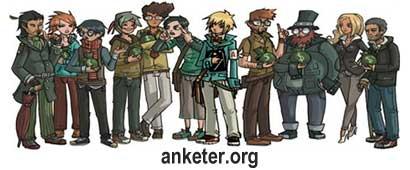 Частный сайт-опросник Anketer