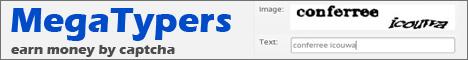 Megatypers - американский сайт ввода капчи